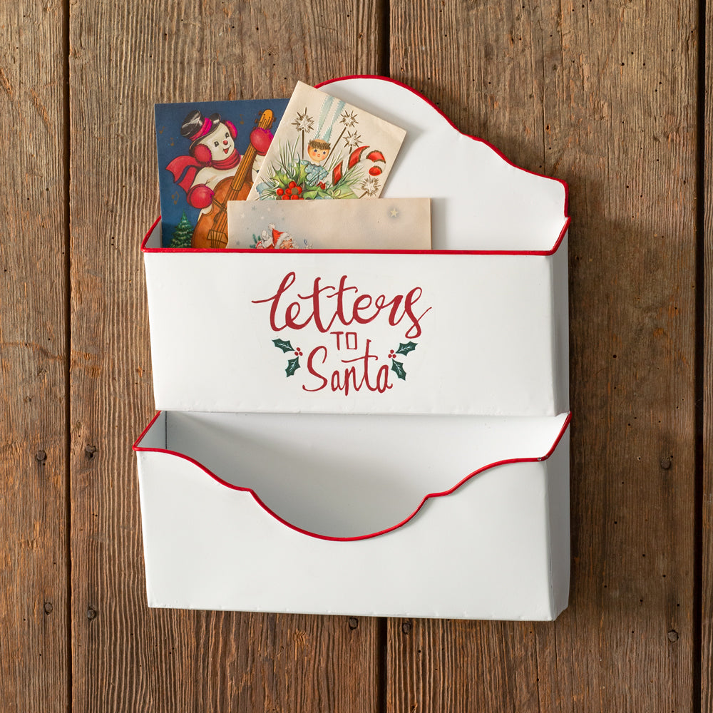 Letter to Santa Wall Pockets