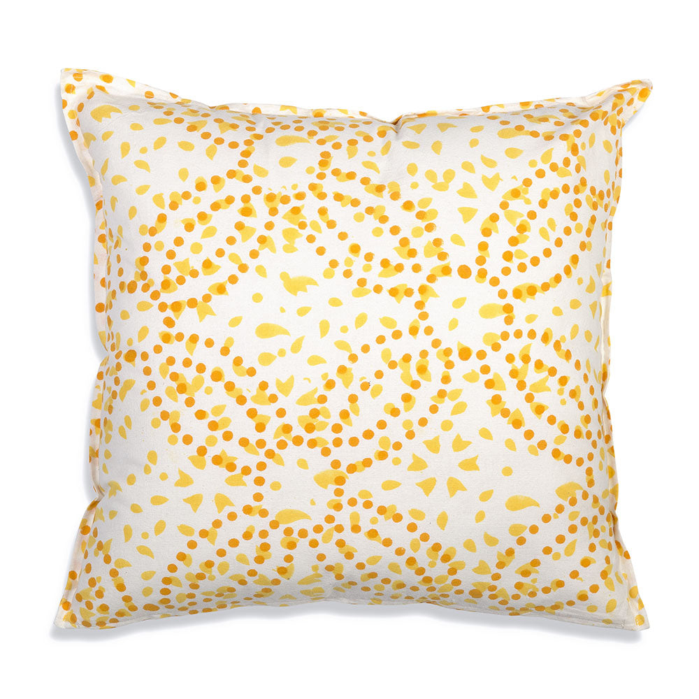 Avery Cotton Throw Pillow