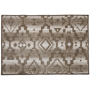 Aztec Inspired Bath Rug