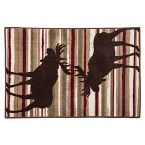 Moose Strip Rug