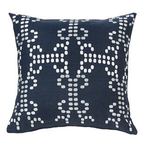 Blue Accent Pillow
