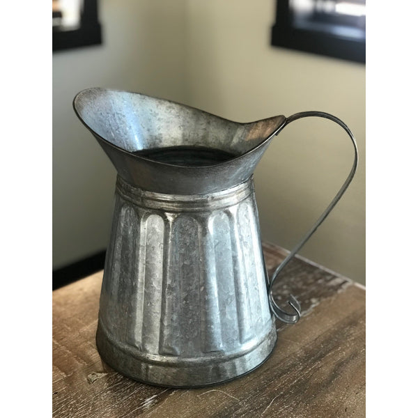 Metal Milk Pitcher