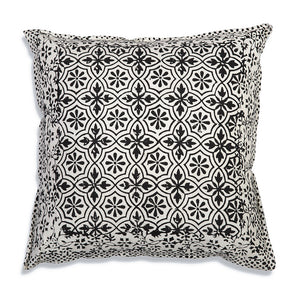 Leo Cotton Throw Pillow