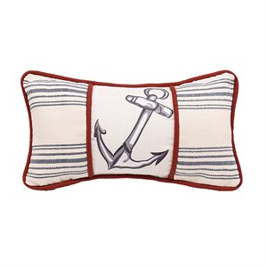 Nautical Anchor Pillow