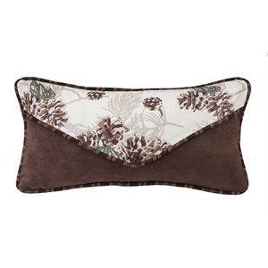 Pine Cone Accent Pillow