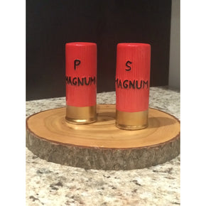Shotgun Shell Salt & Pepper Shaker Set