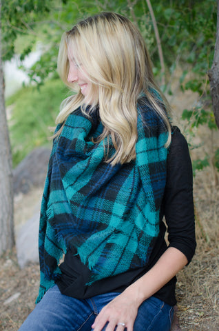 The Oxford Blanket Scarf