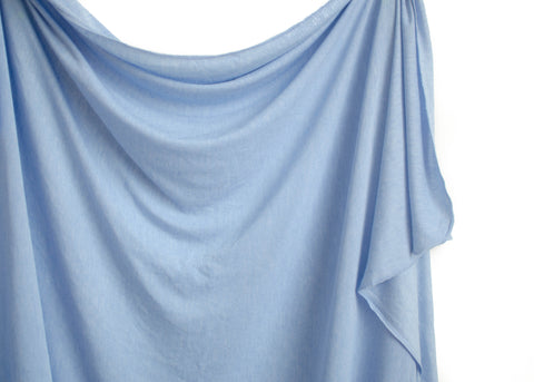 Heather Blue Original Swaddle Blanket