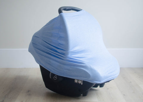The Heather Blue 3-in-1 Car Seat Cover