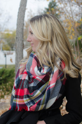 The Solitude Blanket Scarf