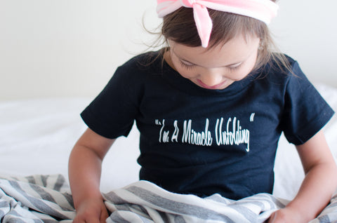 Miracle Unfolding Kids Tee