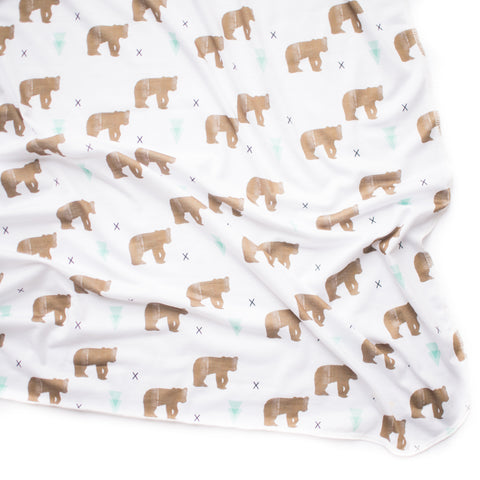 Brown Bear Original Swaddle Blanket