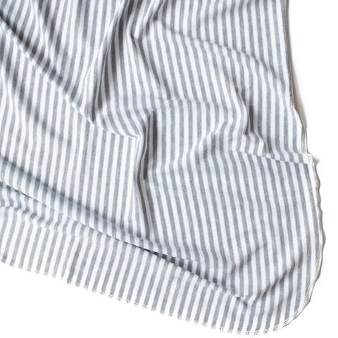 Grey Stripe Original Swaddle Blanket
