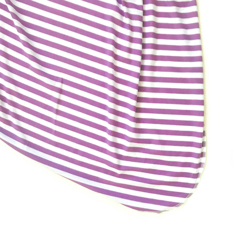 Purple Stripe Original Swaddle Blanket