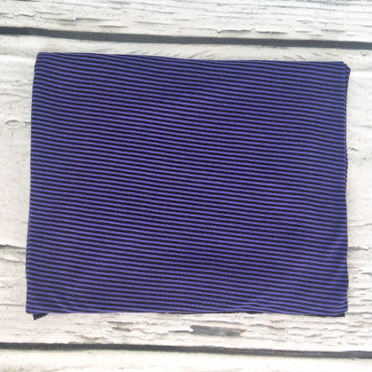 The Purple Pinstripe Original Swaddle Blanket