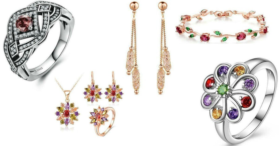 Crystal Jewellery for women | Trendystrike