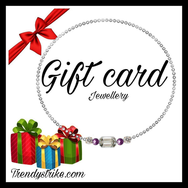 Trendystrike introduce gift cards for women jewellery