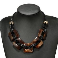 Load image into Gallery viewer, Bohemian square necklace