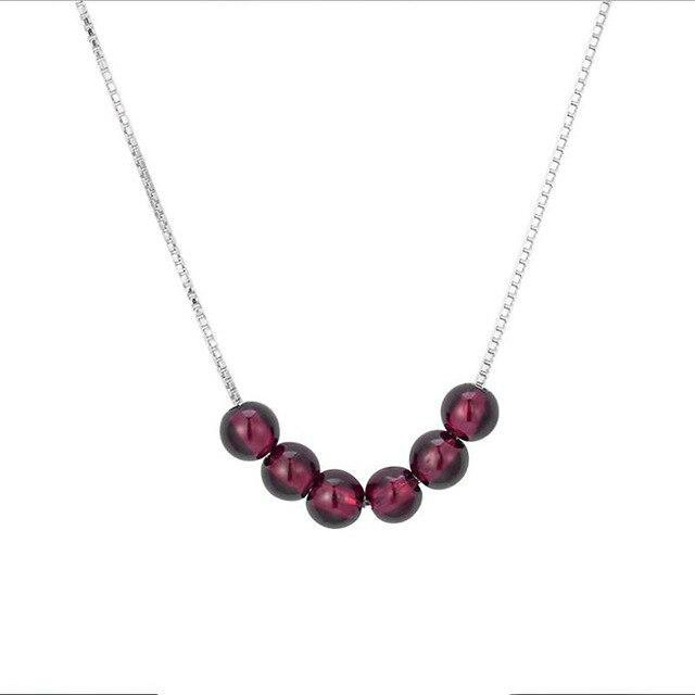 Cherry amber necklace