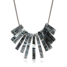 Load image into Gallery viewer, Colourful bricks necklace