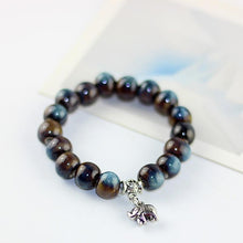 Load image into Gallery viewer, Elephant vibes bracelet