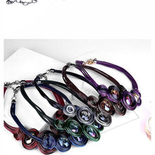 Load image into Gallery viewer, Fashion crystal choker necklace