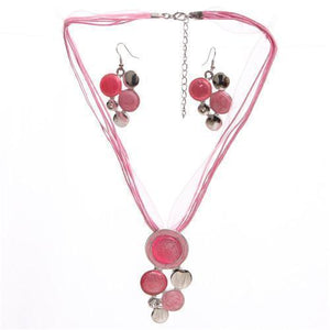 Gem bubbles Jewellery set