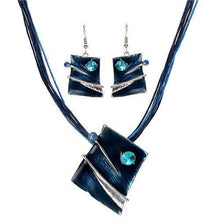 Load image into Gallery viewer, Gem smile jewellery set Blue Trendystrike