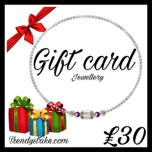 Gift Card jewellery shop
