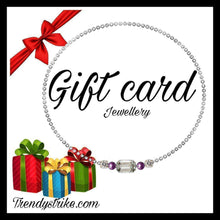 Load image into Gallery viewer, Gift Card jewellery shop