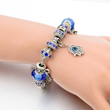 Load image into Gallery viewer, Hamsa hand bracelet