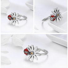 Load image into Gallery viewer, Ladybug ring