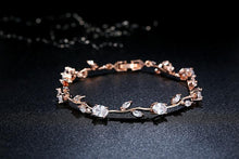 Load image into Gallery viewer, Leaf chain bracelet