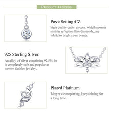 Load image into Gallery viewer, Lotus flower necklace