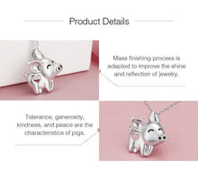 Load image into Gallery viewer, Lucky pig necklace
