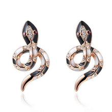 Load image into Gallery viewer, Luxury snake earrings