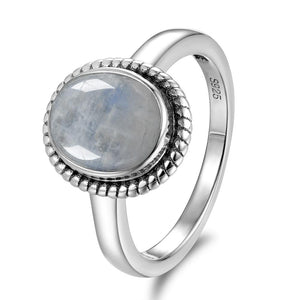 Moonstones Ring