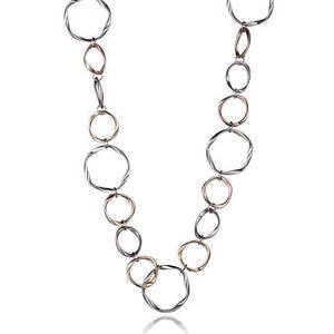 Multi circle necklace