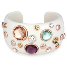 Load image into Gallery viewer, Rainbow cuff bracelet