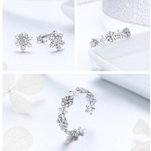 Load image into Gallery viewer, Snowflake Jewellery set Trendystrike