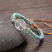 Load image into Gallery viewer, Tree of life yoga bracelet 40 Trendystrike