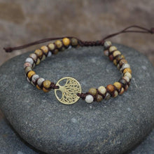 Load image into Gallery viewer, Tree of life yoga bracelet Trendystrike