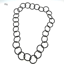 Load image into Gallery viewer, Trendy circles necklace
