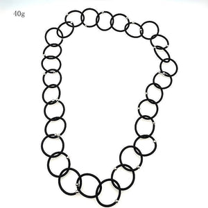 Trendy circles necklace