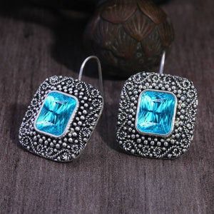 Vintage blue sky earrings Trendystrike