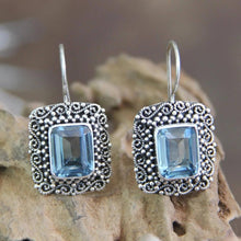 Load image into Gallery viewer, Vintage blue sky earrings Trendystrike