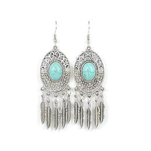 Load image into Gallery viewer, Vintage turquoise earrings