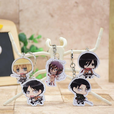 Attack on Titan Attack on Titan Shingeki no Kyojin  Acrylic Keychains