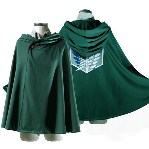 Attack on Titan Attack on Titan Shingeki No Kyojin Cosplay Cloak