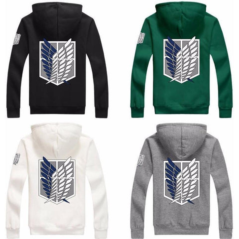 Attack on Titan Attack on Titan Shingeki No kyojin Scouting Legion Hoodies